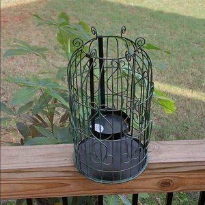 NWT Bath & Body Works bird cage candle holder